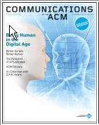 Cover of Communications of the ACM