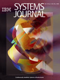 Cover of IBM Systems Journal